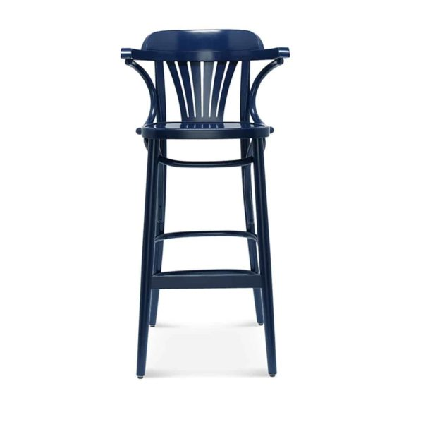 Core Bar Stool Classic Bentwood DeFrae Contract Furniture Front View