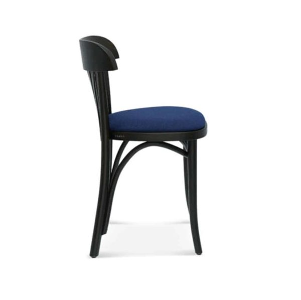 Core Classic Bentwood Side Chair DeFrae Contract Furniture side view