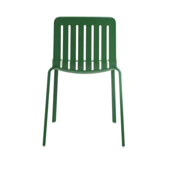 Plato Side Chair Magis at DeFrae Contract Furniture Green Back View