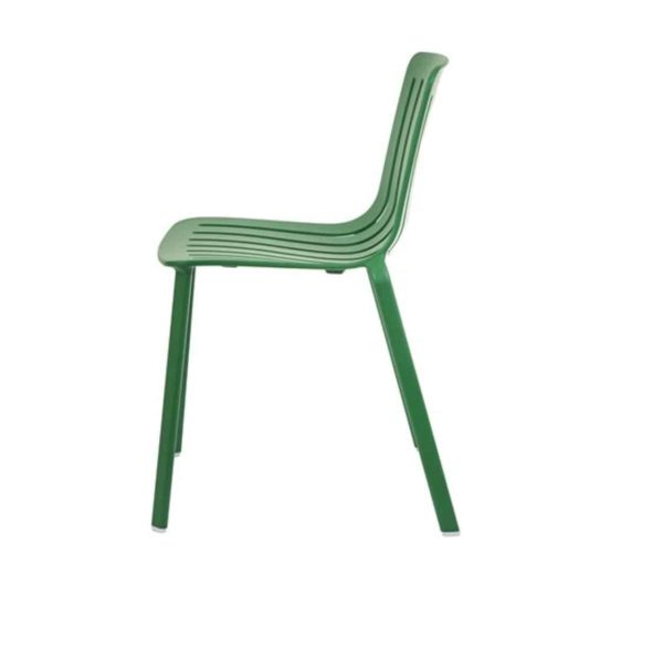 Plato Side Chair Magis at DeFrae Contract Furniture Green Side View