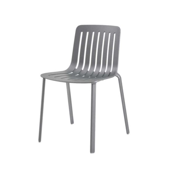 Plato Side Chair Magis at DeFrae Contract Furniture Grey Side On View