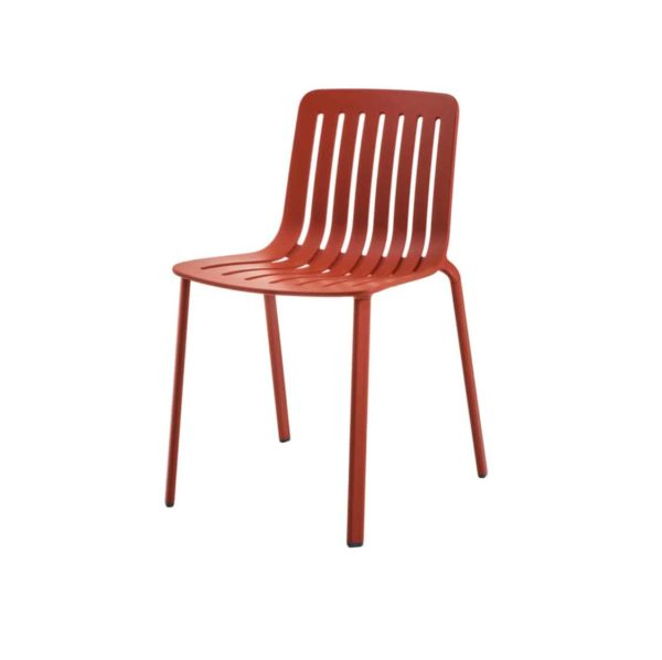Plato Side Chair Magis at DeFrae Contract Furniture Red Side On View