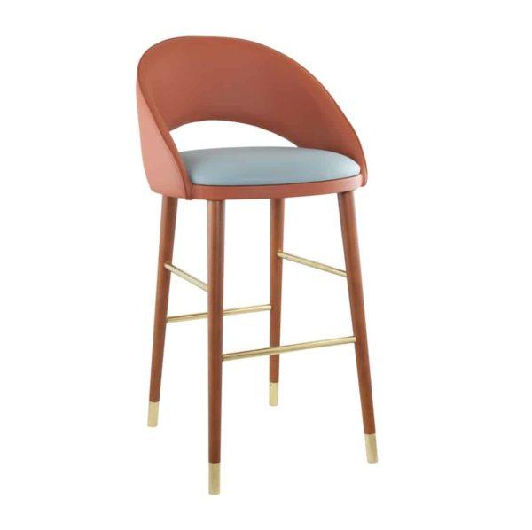 Sinatra Bar Stool CM Cadeiras DeFrae Contract Furniture Back