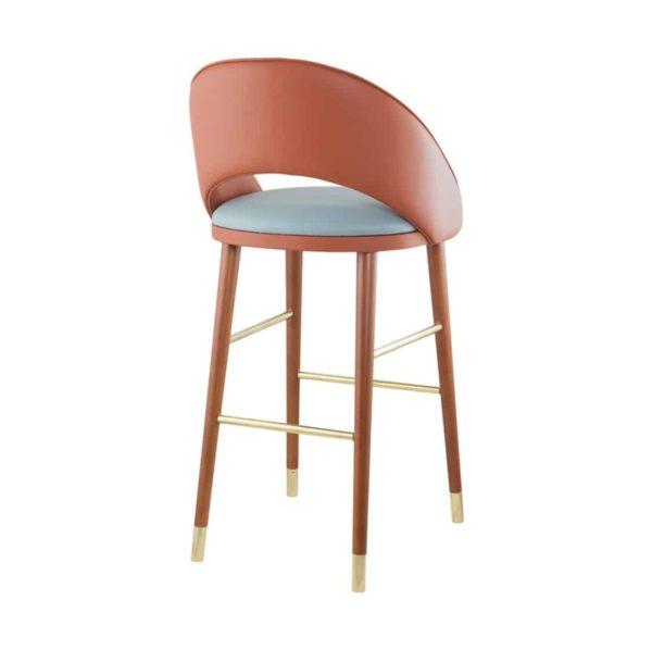 Sinatra Bar Stool CM Cadeiras DeFrae Contract Furniture Back View