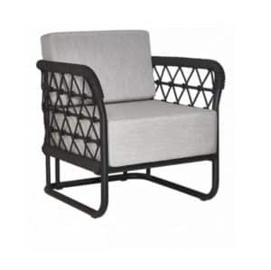 Marine Armchair Outdoor Lounge Chair DeFrae Contract Furniture