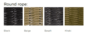 Marine Armchair Rope Finishes