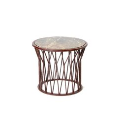 Rhombus Side Table at DeFrae Contract Furniture Marble Top