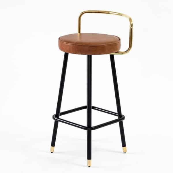 Block B-A2 Bar Stool Bar Stool DeFrae Contract Furniture