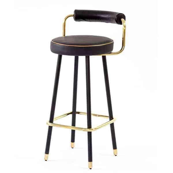 Block B-A3 Bar Stool Bar Stool DeFrae Contract Furniture
