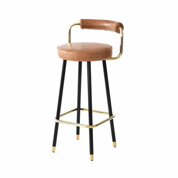 Block B Bar Stool from Topos Available From DeFrae Contract Furniture