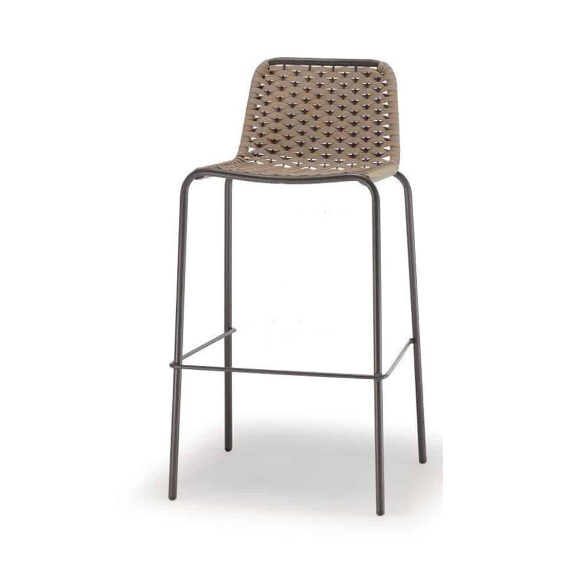 Cannes Bar Stool Outside Restaurant Bar Coffee Shop Cafe DeFrae Contract Furniture