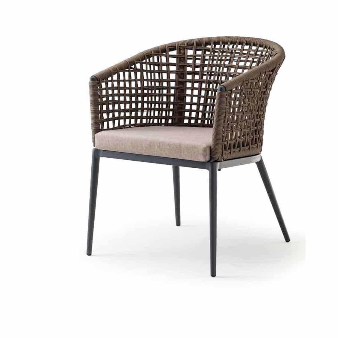 Cuba Armchair Outside Restaurant Bar Coffee Shop Cafe DeFrae Contract Furniture