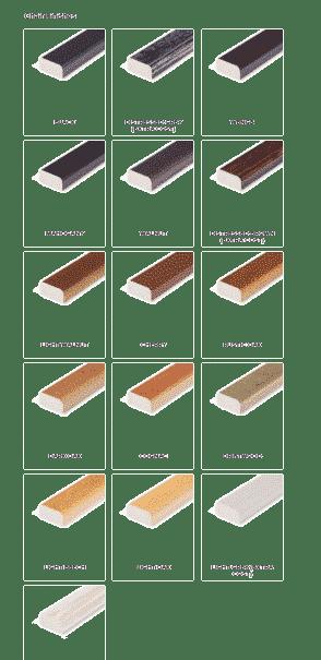 DeFrae chair frame colour options