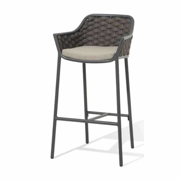 Panama Bar Stool Outside Restaurant Bar Coffee Shop Cafe DeFrae Contract Furniture