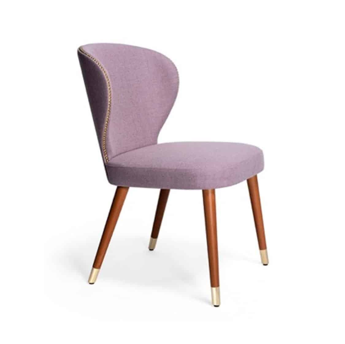 Abbraccio Deluxe side chair Accento at DeFrae Contract Furniture