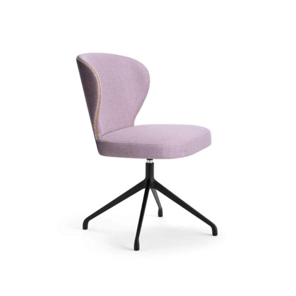 Abbraccio Deluxe side chair spider base Accento at DeFrae Contract Furniture.png