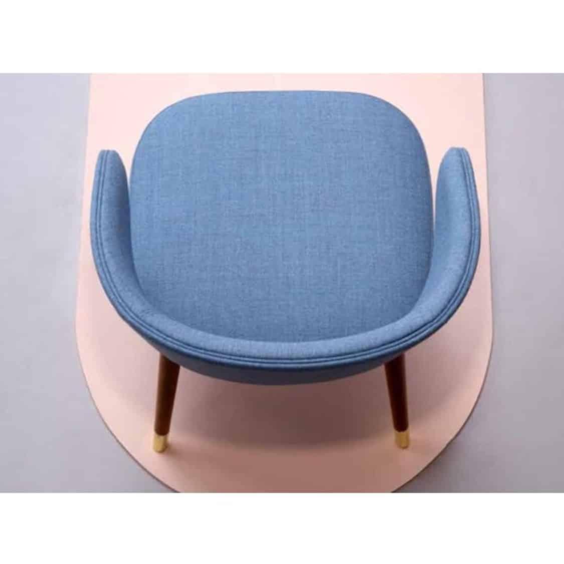 Abbraccio ariel view side chair Accento at DeFrae Contract Furniture