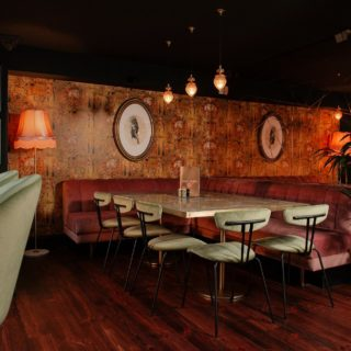 Amy side chairs by DeFrae Contract Furniture at Lola Jeans Tynemouth restaurant bar