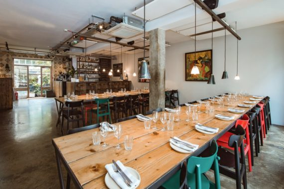Chance side chairs at Carousel London by DeFrae Contract Furniture 2