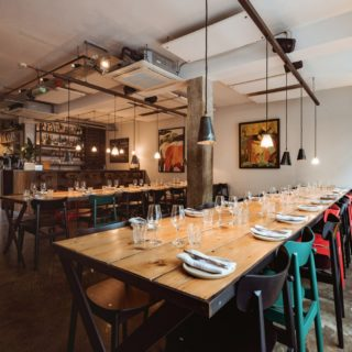 Chance side chairs at Carousel London by DeFrae Contract Furniture