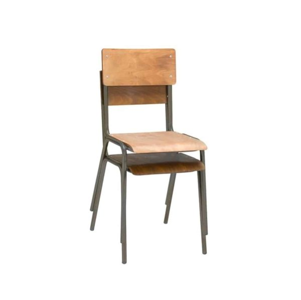 Classroom Side Chair DeFrae Contract Furniture Stackable
