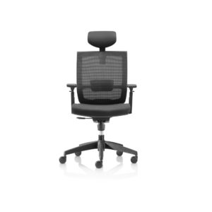 Granada Office Chair with headrest DeFrae Contract Furniture