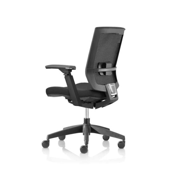 Granada Office Chair DeFrae Contract Furniture Side View