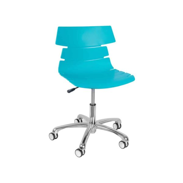 Cavendish Office Chair DeFrae Contract Furniture Blue