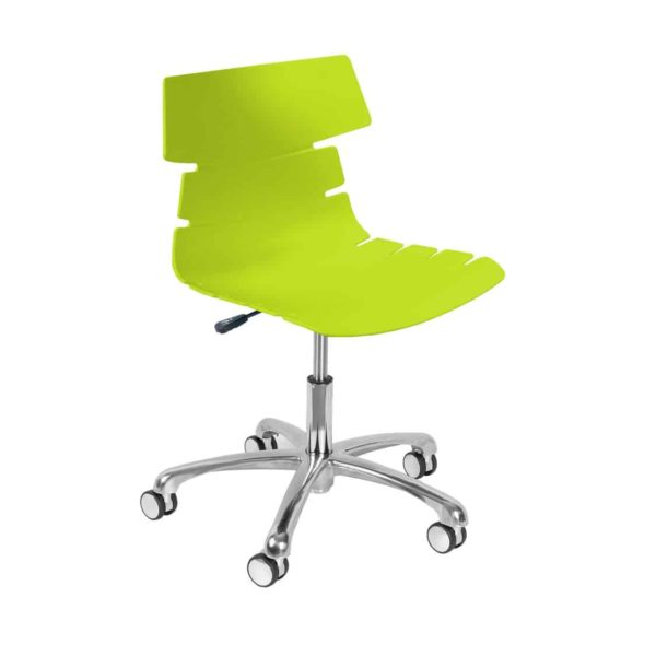Cavendish Office Chair DeFrae Contract Furniture Lime