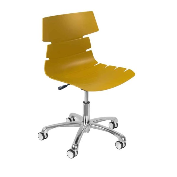 Cavendish Office Chair DeFrae Contract Furniture Mustard