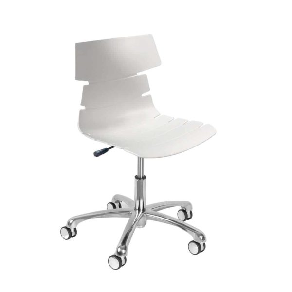Cavendish Office Chair DeFrae Contract Furniture White