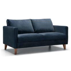 Impulse 2 Seater Sofa Blue DeFrae Contract Furniture 2