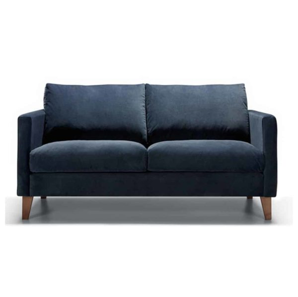 Impulse 2 Seater Sofa Blue DeFrae Contract Furniture