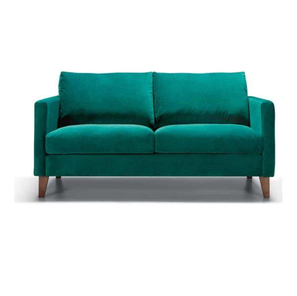 Impulse 2 Seater Sofa Emerald Green DeFrae Contract Furniture