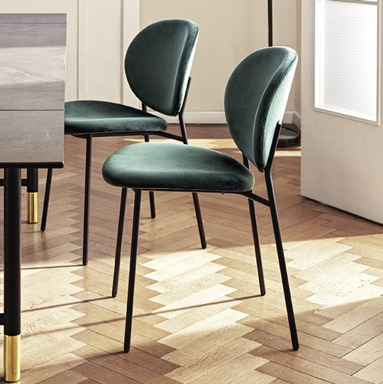 Ines Side Chair Calligaris at DeFrae Contract Furniture