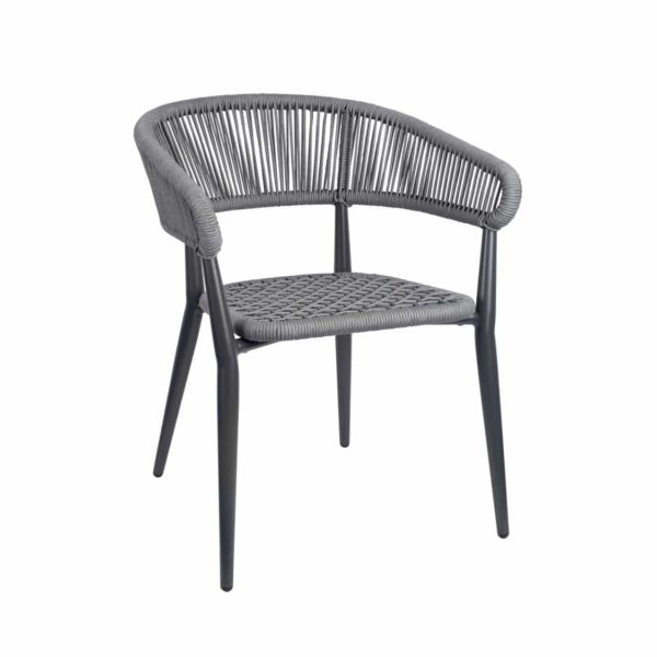 Madrid Armchair DeFrae Contract Furniture Roped Back