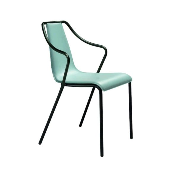 Ola Stackable Armchair Midj available from DeFrae Contract Furniture