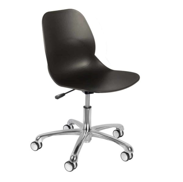 Shoreditch Office Chair DeFrae Contract Furniture Office Black