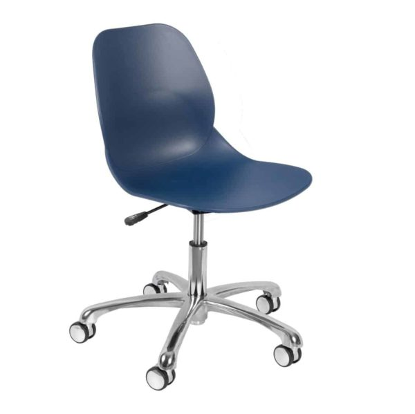Shoreditch Office Chair DeFrae Contract Furniture Office Blue