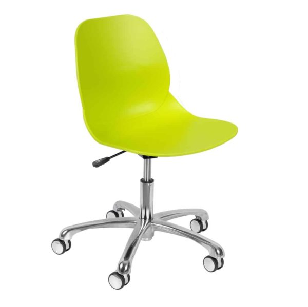 Shoreditch Office Chair DeFrae Contract Furniture Office Lime