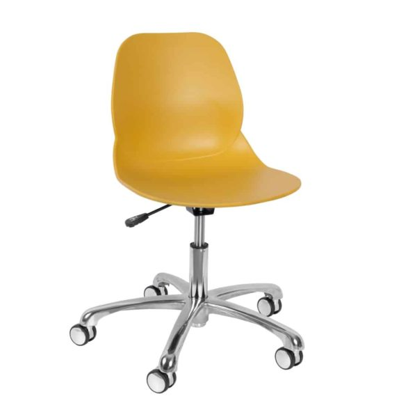 Shoreditch Office Chair DeFrae Contract Furniture Office Mustard