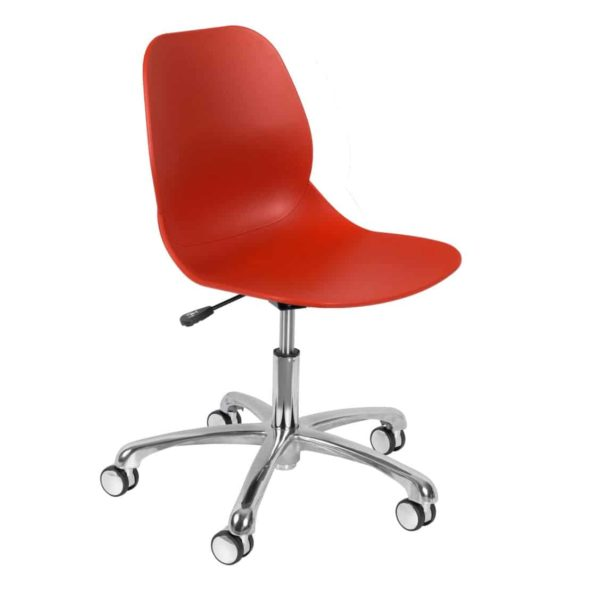 Shoreditch Office Chair DeFrae Contract Furniture Office Red