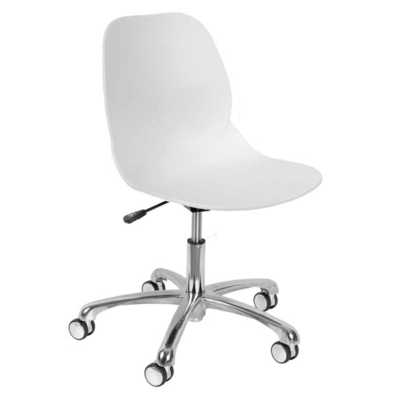 Shoreditch Office Chair DeFrae Contract Furniture Office White