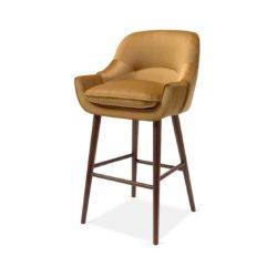 Ada Bar Stool DeFrae Contract Furniture mustard