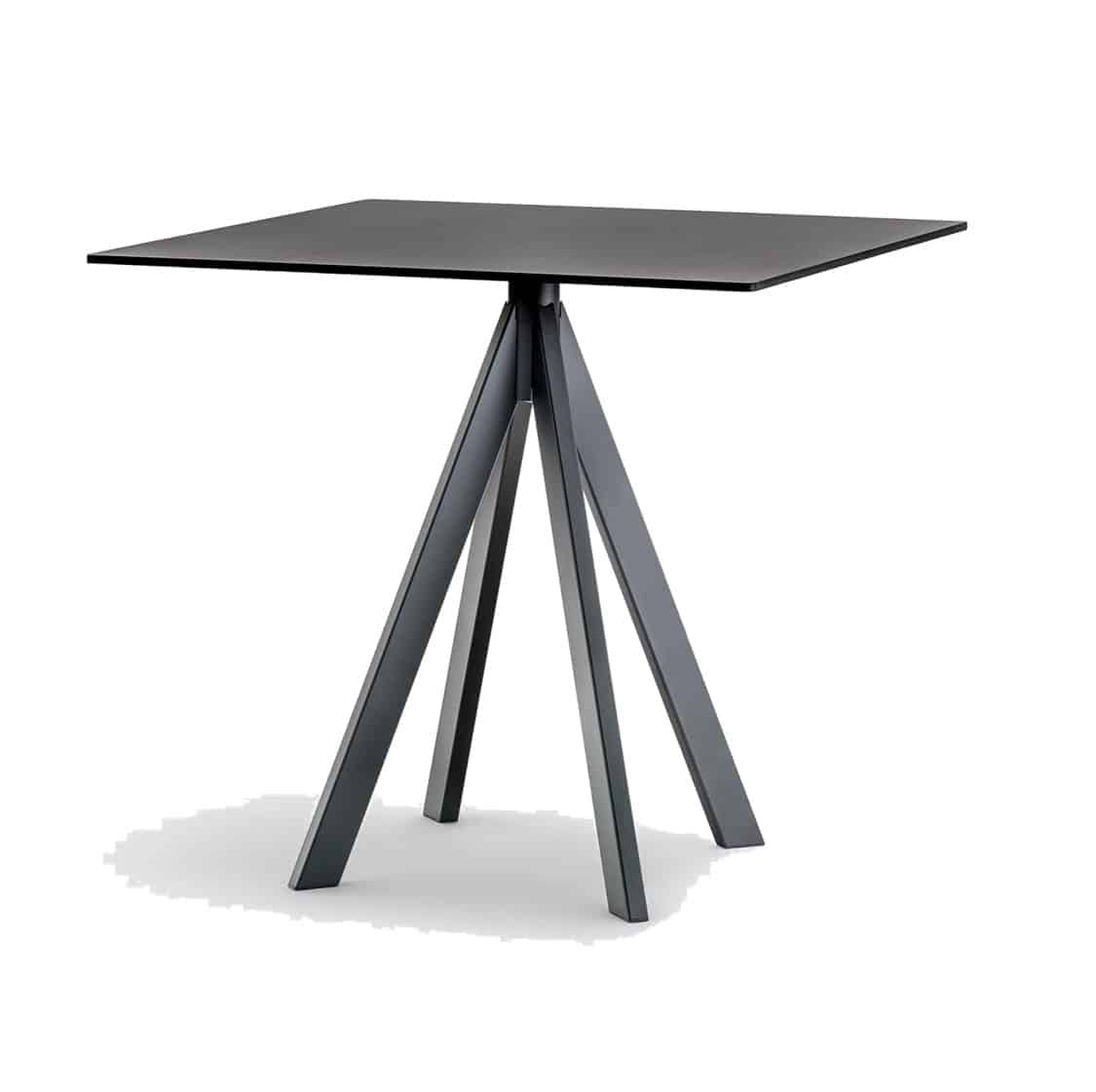 Arki Table Base Ark 4 Pedrali at DeFrae Contract Furniture Side View