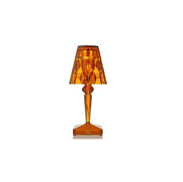 Battery Table Lamp from Kartell at DeFrae Contract Furniture Amber