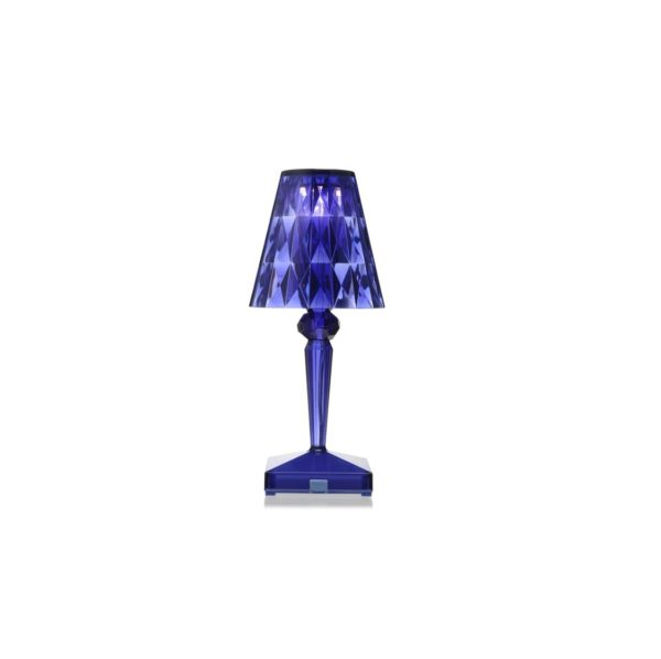 Battery Table Lamp from Kartell at DeFrae Contract Furniture Blue