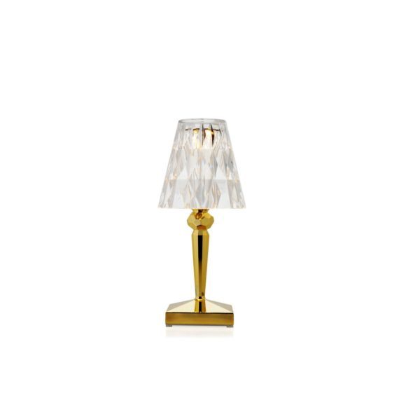 Battery Table Lamp from Kartell at DeFrae Contract Furniture Gold