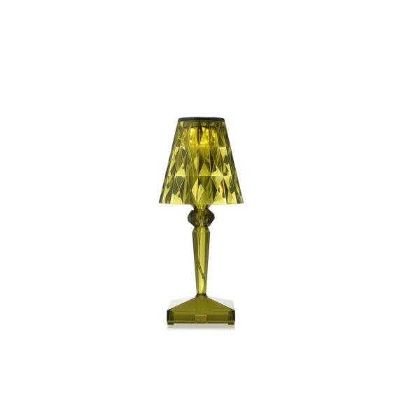 Battery Table Lamp from Kartell at DeFrae Contract Furniture Green