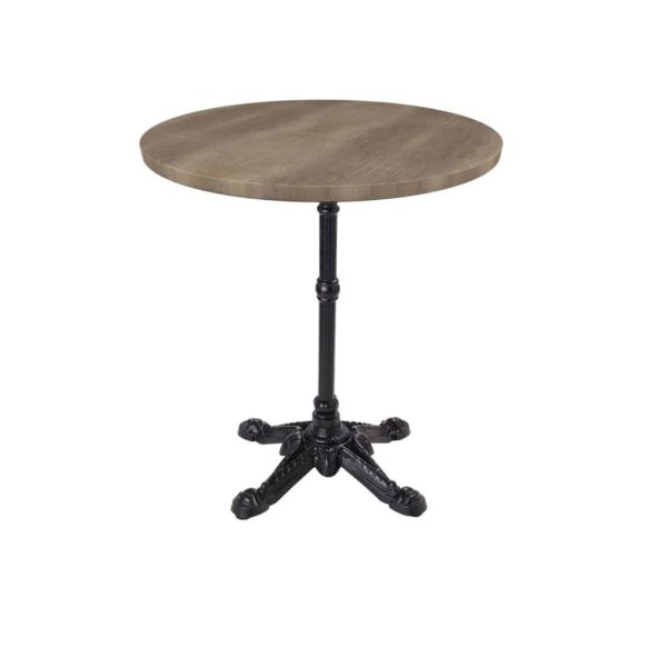 Bistro 4 Leg Table Base Dining Height Round Top